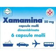XAMAMINA -  50 MG CAPSULE MOLLI 6 CAPSULE