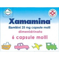 XAMAMINA - BAMBINI 25 MG CAPSULE MOLLI 6 CAPSULE