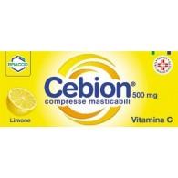 CEBION -  500 MG COMPRESSE MASTICABILI 20 COMPRESSE MASTICABILI AL LIMONE