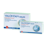 VALONTAN Adulti compresse rivestite VALONTAN Adulti supposte - ADULTI 100 MG COMPRESSE RIVESTITE 10 COMPRESSE