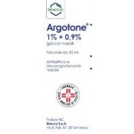 ARGOTONE 1% +0,9% GOCCE NASALI, SOLUZIONE FLACONE DA 20 ML -  1% + 0,9% GOCCE NASALI 1 FLACONE DA 20 ML