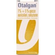 OTALGAN BERNA -  1% + 5% GOCCE AURICOLARI, SOLUZIONE FLACONE DA 6G