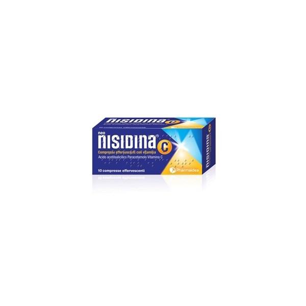 NEO-NISIDINA C - COMPRESSE EFFERVESCENTI CON VITAMINA C 10 COMPRESSE