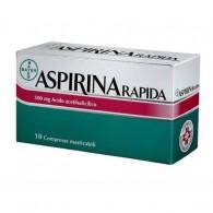 ASPIRINA RAPIDAD 500 MG COMPRESSE MASTICABILI - RAPIDA 500 MG COMPRESSE MASTICABILI 10 COMPRESSE