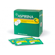 ASPIRINA - 400 MG COMPRESSE EFFERVESCENTI CON VITAMINA C 40 COMPRESSE IN STRIP AL/PE/CARTA-PE/AL/SURLYN