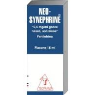NEO–SYNEPHRINE 2,5 MG/ML GOCCE NASALI, SOLUZIONE -  2,5 MG/ML GOCCE NASALI, SOLUZIONE FLACONE 15 ML