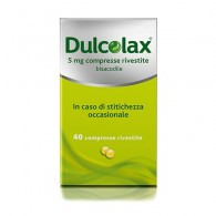 DULCOLAX - 5MG COMPRESSE RIVESTITE  40 COMPRESSE IN BLISTER PVC/PVDC