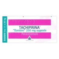 TACHIPIRINA - BAMBINI 250 MG SUPPOSTE 10 SUPPOSTE