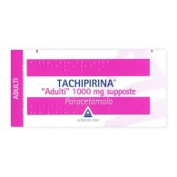 TACHIPIRINA - ADULTI 1.000 MG SUPPOSTE 10 SUPPOSTE