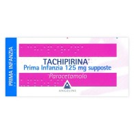 TACHIPIRINA - PRIMA INFANZIA 125 MG SUPPOSTE 10 SUPPOSTE