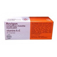 ROVIGON COMPRESSE RIVESTITE MASTICABILI - COMPRESSE RIVESTITE MASTICABILI 30 COMPRESSE