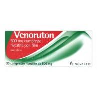 VENORUTON -  500 MG COMPRESSE RIVESTITE CON FILM 30 COMPRESSE
