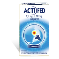 ACTIFED -  2,5 MG + 60 MG COMPRESSE 12 COMPRESSE