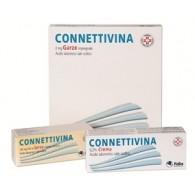CONNETTIVINA -  2 MG GARZE IMPREGNATE 10 GARZE IMPREGNATE STERILI CM 10 X 10