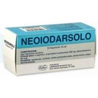 NEOIODARSOLO - 10 FLACONCINI ORALI 15 ML