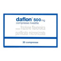 DAFLON 500 MG COMPRESSE RIVESTITE CON FILM -  500 MG COMPRESSE RIVESTITE CON FILM 30 COMPRESSE