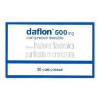 DAFLON 500 MG COMPRESSE RIVESTITE CON FILM -  500 MG COMPRESSE RIVESTITE CON FILM 30 COMPRESSE