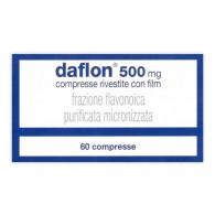 DAFLON 500 MG COMPRESSE RIVESTITE CON FILM -  500 MG COMPRESSE RIVESTITE CON FILM 60 COMPRESSE