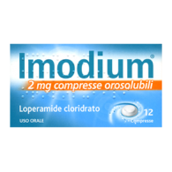 IMODIUM 2 MG -  2 MG COMPRESSE OROSOLUBILI 12 COMPRESSE