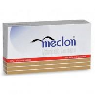 MECLON  CREMA VAGINALE – SOLUZIONE VAGINALE  -  20% + 4% CREMA VAGINALE TUBO 30 G + 6 APPLICATORI