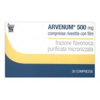 ARVENUM 500 MG COMPRESSE RIVESTITE CON FILM -  500 MG COMPRESSE RIVESTITE CON FILM 30 COMPRESSE