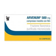 ARVENUM 500 MG COMPRESSE RIVESTITE CON FILM -  500 MG COMPRESSE RIVESTITE CON FILM 60 COMPRESSE