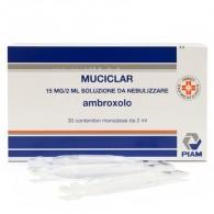 MUCICLAR -  15 MG/ 2 ML SOLUZIONE DA NEBULIZZARE 30 CONTENITORI MONODOSE DA 2 ML