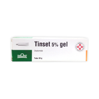 TINSET 5% GEL -  5% GEL TUBO 30 G