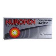 NUROFEN COMPRESSE -  200 MG COMPRESSE RIVESTITE 24 COMPRESSE