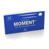 MOMENT 200 MG COMPRESSE RIVESTITE -  200 MG COMPRESSE RIVESTITE 12 COMPRESSE