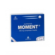 MOMENT 200 MG COMPRESSE RIVESTITE -  200 MG COMPRESSE RIVESTITE 6 COMPRESSE