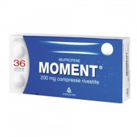MOMENT 200 MG COMPRESSE RIVESTITE -  200 MG COMPRESSE RIVESTITE 36 COMPRESSE