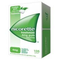 NICORETTE GOMME DA MASTICARE MEDICATE -  4 MG GOMME DA MASTICARE MEDICATE GUSTO MENTA FORTE 105 GOMME