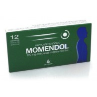 MOMENDOL 220 -  220 MG COMPRESSE RIVESTITECON FILM 12 COMPRESSE RIVESTITE