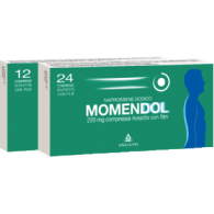 MOMENDOL 220 -  220 MG COMPRESSE RIVESTITE CON FILM 24 COMPRESSE