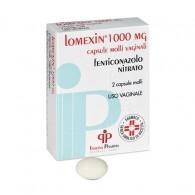 LOMEXIN -  1.000 MG CAPSULE MOLLI VAGINALI 2 CAPSULE