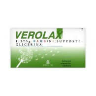 VEROLAX -  1,375 G BAMBINI SUPPOSTE 18 SUPPOSTE