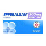 EFFERALGAN supposte - BAMBINI 300 MG SUPPOSTE 10 SUPPOSTE