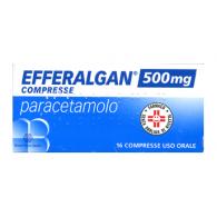 EFFERALGAN 500 mg compresse -  500 MG COMPRESSE 16 COMPRESSE