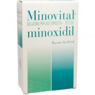 MINOVITAL 20 MG/ML SOLUZIONE CUTANEA -  2% SOLUZIONE CUTANEA FLACONE 60ML