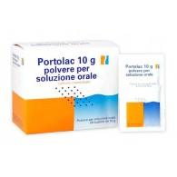 PORTOLAC -  10 G POLVERE PER SOLUZIONE ORALE 20 BUSTINE