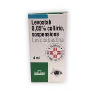 LEVOSTAB 0,5 MG/ML COLLIRIO SOSPENSIONE - 0,5 MG/ML COLLIRIO, SOSPENSIONE 1 FLACONE 4 ML