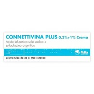 CONNETTIVINA PLUS -  0,2% + 1% CREMA TUBO 25 G