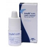 KETOFTIL -  0,05% COLLIRIO, SOLUZIONE FLACONE DA 10 ML