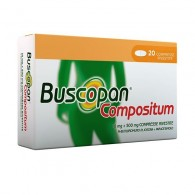 BUSCOPAN COMPOSITUM - 10 MG + 500 MG COMPRESSE RIVESTITE 20 COMPRESSE IN BLISTER AL/PVC