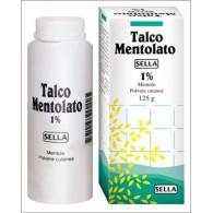 MENTOLO SELLA 1% POLVERE CUTANEA -  1% POLVERE CUTANEA 1 FLACONE 100 G