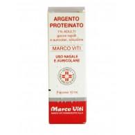 ARGENTO PROTEINATO MARCO VITI -  1% GOCCE NASALI, SOLUZIONE FLACONE 10 ML