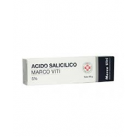 ACIDO SALICILICO MARCO VITI -  5% UNGUENTO TUBO 30 G