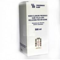 SODIO CLORURO FRESENIUS KABI ITALIA SOLUZIONE PER INFUSIONE - 0,9% 1 FLACONE 500 ML