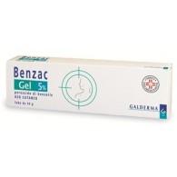 BENZAC -  5% GEL TUBO 40 G